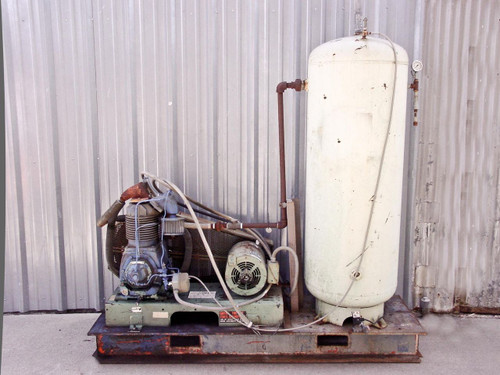 Century  6-357723-02 15 HP 208-480 3 Phase Air Compressor w/ Manchester Tank