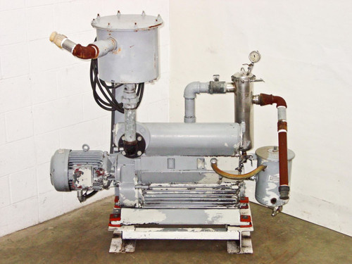 Heraeus DK-180  Vacuum Pump with Siemens Schuckert Motor QR 718/4
