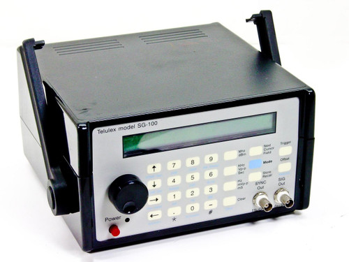Telulex SG-100  21.5 MHz Synthesized Signal Generator