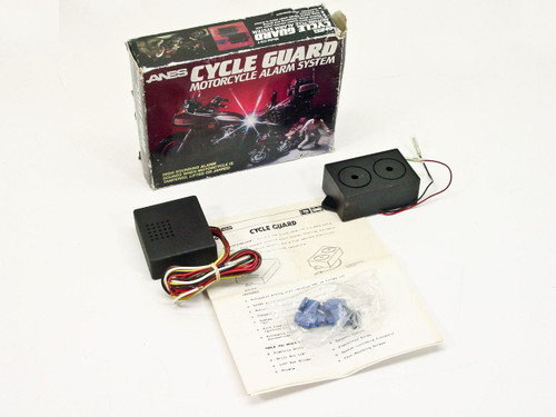 Anes Cycle Guard Motorcycle Alarm System CG-7
