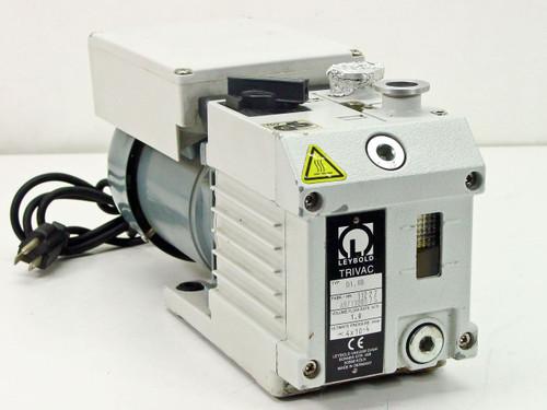 Leybold D1.6B  Trivac Rotary Vane Vacuum Pump