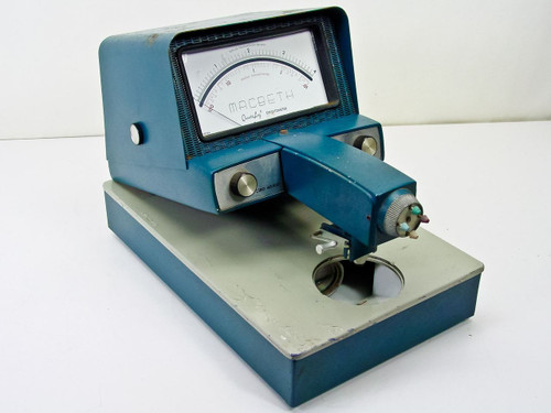 Macbeth TD-102  Transmission Densitometer - As Is