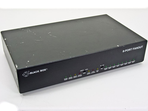Black Box 8-Port Fanout LE401A