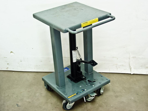 Wesco LT-05-1818-3W489  Long Ram Jack Platform Needs Repair
