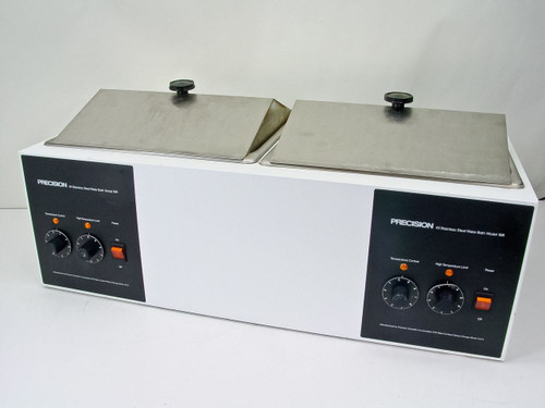 Precision Scientific 188  Dual Station Heated Water Bath -AS-IS Right Side Out