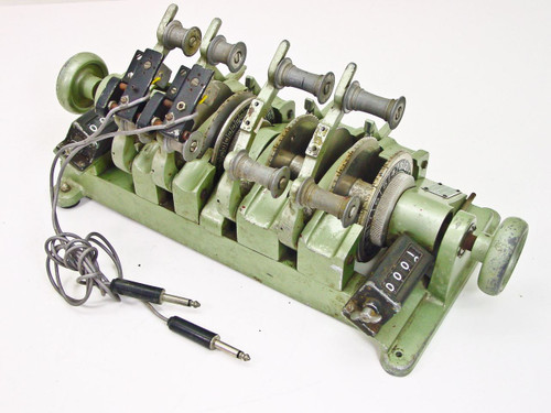 Moviola 4 Gang 35mm / 16mm Film Synchronizer w/ 2 Sound Heads SYBZB-B