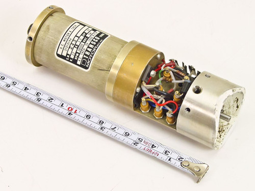 Transco  DC Motor & Tachometer 22 VDC 3.0 Amp 28000 RPM 31510144
