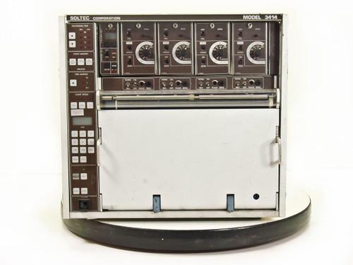 Soltec Model 3414  Oscillograph Chart Recorder