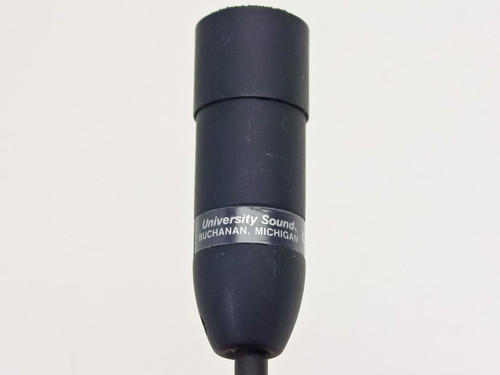 """University Sound US649B  Dynamic Lavalier Microphone with 1/8"""" Stereo Jack"""