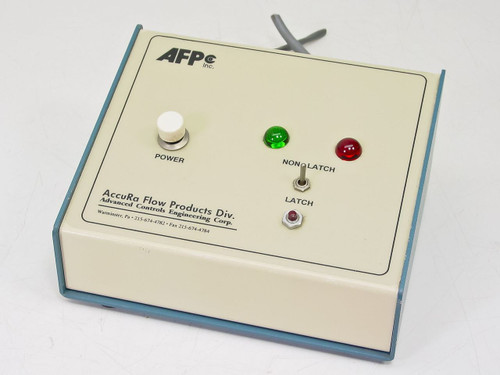 AFP Flow Controller with Omron MK2P-S 250VAC 28VDC CB-II-F/A/A