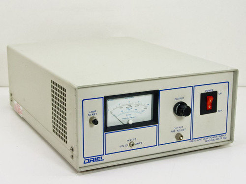 Oriel 0-500 Watt HG ARC Lamp Power Supply - As is for pa 68810