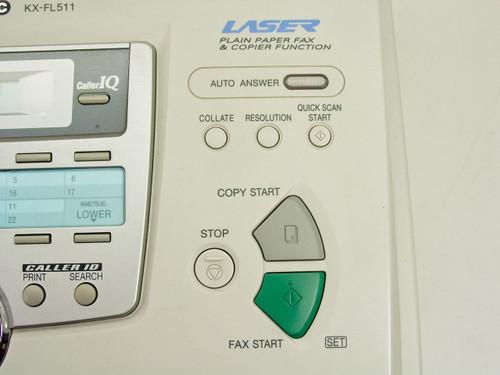 panasonic fax machine kx fl511