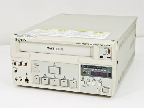Sony SVO-9500MD2  Video Cassette Recorder Medical grade