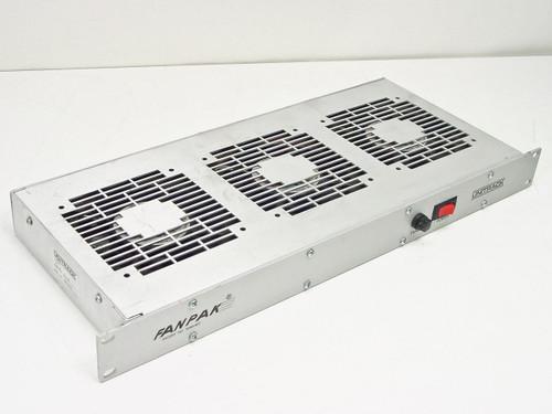 """UNITRACK 3120  Fan Pack Cooling Fan for 19"""" Rackmount"""