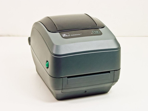 Zebra GX42-100310-100 GX420t GX420t Thermal Label Printer - Missing Standard Pla