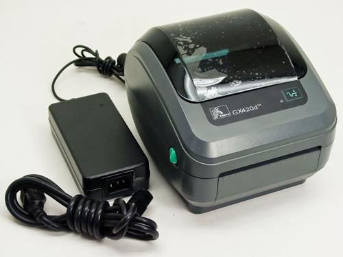 Zebra GX42-200310-000 GX420d Thermal Label Printer - AS-IS
