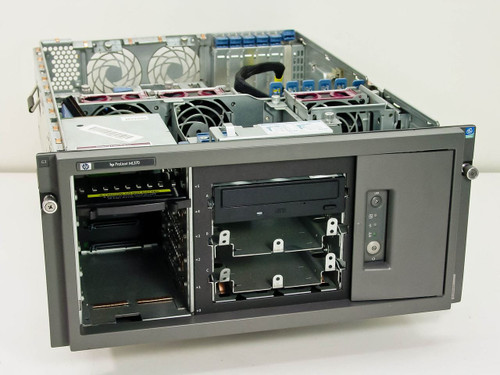 HP ML370  Compaq Proliant 533MHz FSB w/CD-R As Is