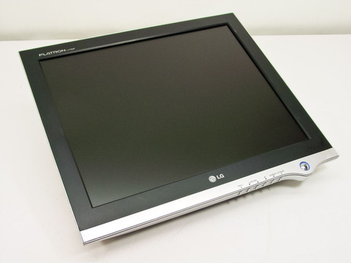 "LG Flatron L1720P  17"" LCD Monitor- No Base - For parts only"