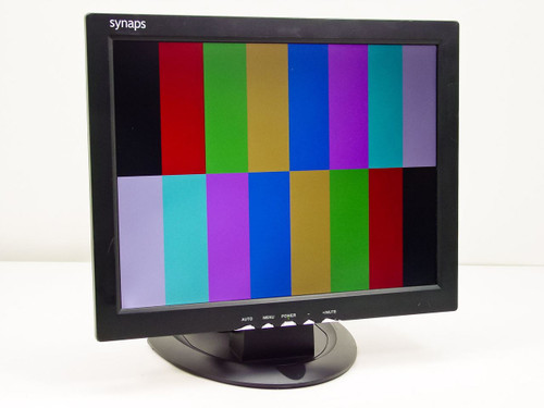 "Synaps HD15A  15"" LCD Monitor - As Is for parts only."