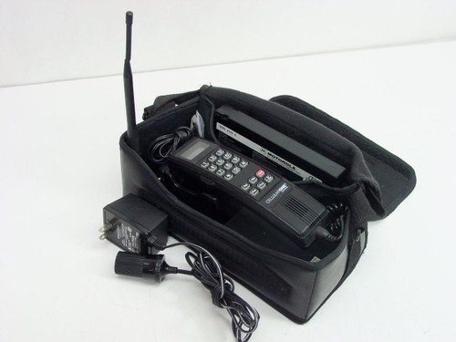 Motorola SCN2396A  Vintage Bag Cell Phone (Broken Antenna Cover)