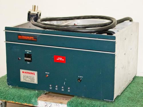 Branson/IPC PM-112RF Generator 13.560MHz -AS-IS Missing Tetrode Tube 04015-AA