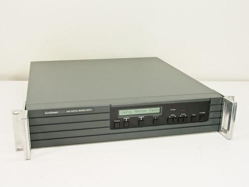 ComStream CM701  PSK Digital Modem, Doppler Buffer, Tx/Rx Data V.35 I/O, Monitor