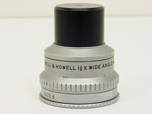 Bell & Howell  1 1/2X   Size 6 Wide Angle Lens
