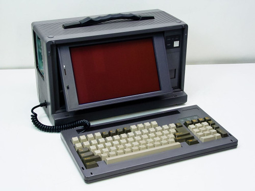 HM Suitcase Computer w/ Screen & Keyboard 10397