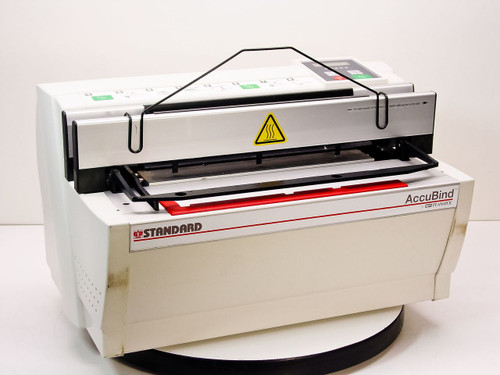 Standard Accubind Document Book Binding Machine System -AS-IS / FOR PARTS