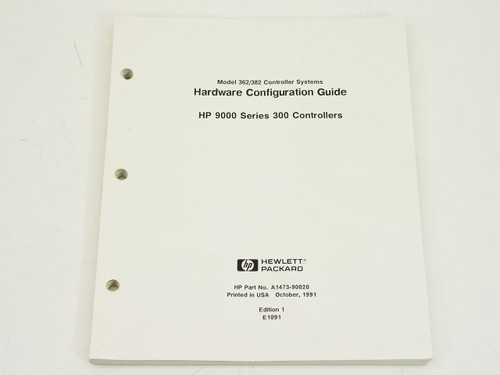 HP 9000 Series 300  Hardware Configuration Guide