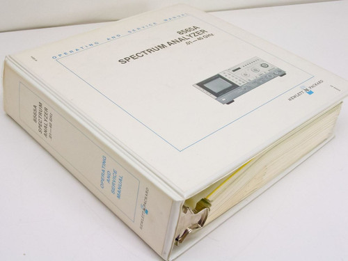 HP 8565A  Spectrum Analyzer .01-40 GHz Operating and Service Manual