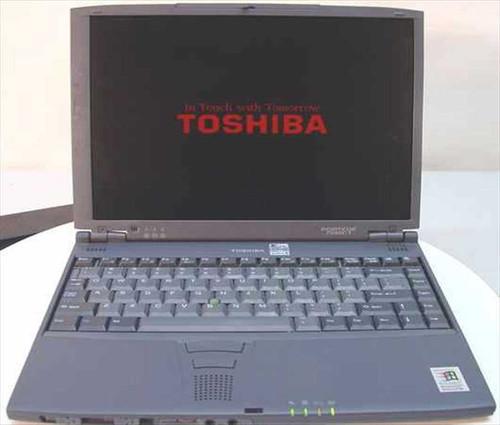 Toshiba PII 366MHz Portege 7020CT 64MB RAM 6GBHDD PAP702C
