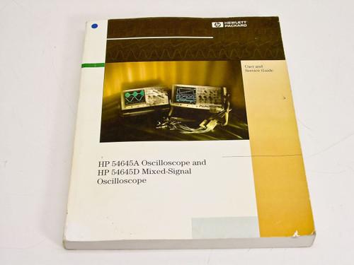 HP 54645A & 54645D  User & Service Guide