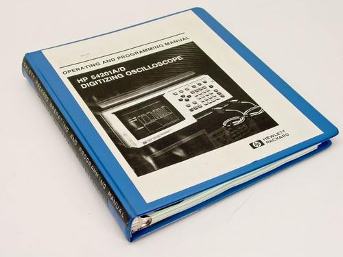 HP 54201A-D  Operating & Programming Manual