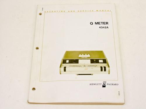HP 4342A  Operating & Service Manual
