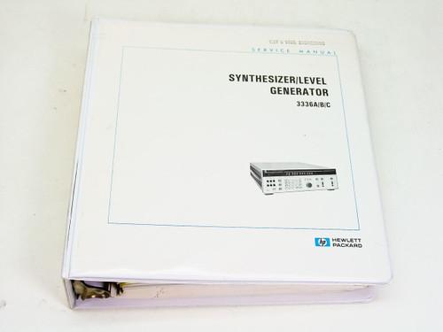 HP 3336A/B/C  Service Manual