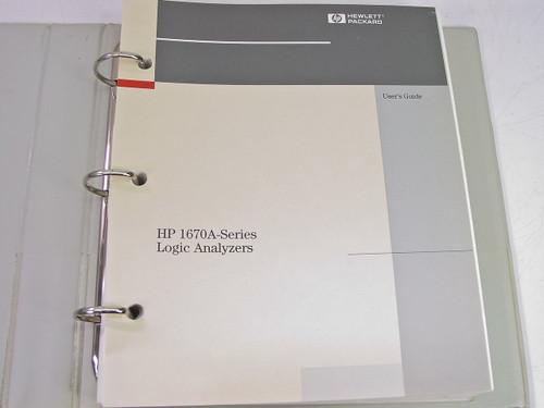 HP 1670A  Logic Analyzer User's Guide