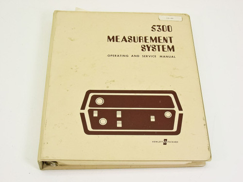 HP 5300  Measurement System Operating & Service Manual