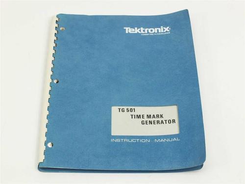 Tektronix TG501  Instruction manual