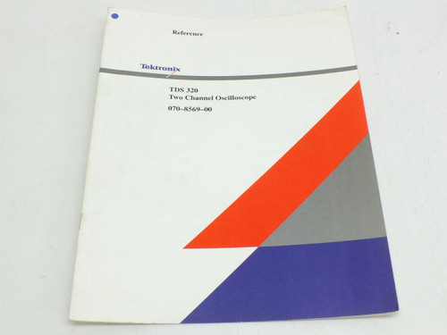 Tektronix TDS320  Instruction Manual