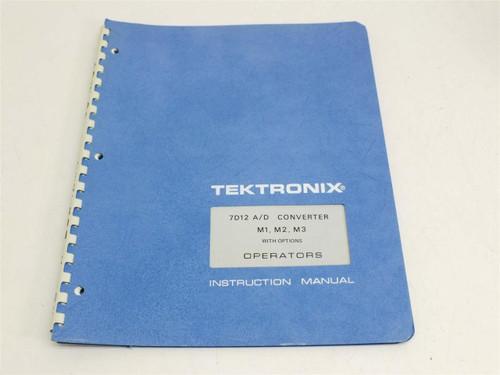 Tektronix 7D12 A/D Converter  Instruction Manual