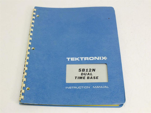 Tektronix 5B12N  Instruction Manual