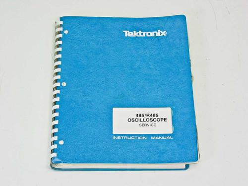 Tektronix 485 /R485 Oscilloscope Service  Instruction Manual