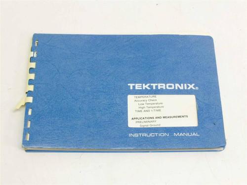 Tektronix 466 / 464 DM44  Operators Manual