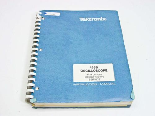 Tektronix 465B with Opt  Service Manual