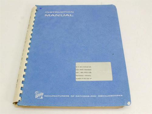 Tektronix Instruction Manual 422 / R422 with AC Power Supply