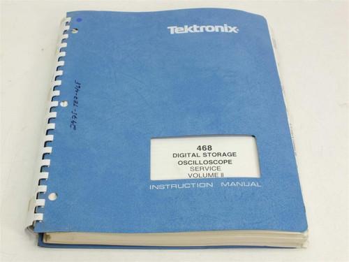 Tektronix 468  Service Volume II