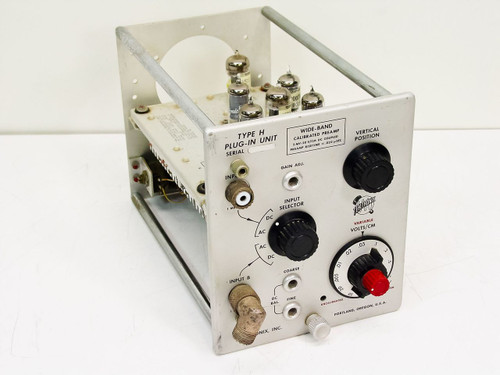 Tektronix  Type H  Wide-Band Calibrated Preamp