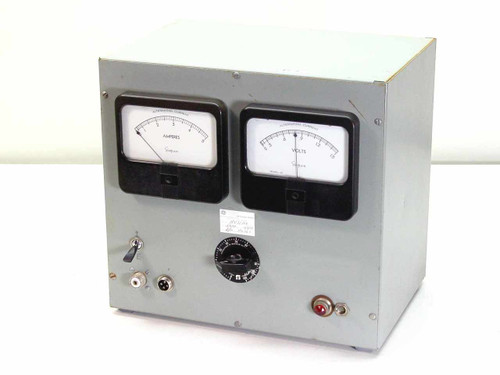 Simpson Model 59 Staco AC Variac with Volt and Amp Meters (0 to 6.2 VAC, 6 Amp)