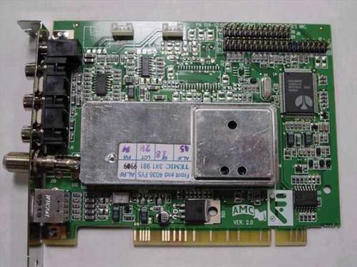 ATI 109-55100-00 PCI TV / Video Capture Card 1025511002